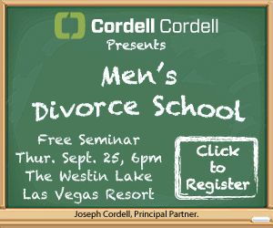 men's divorce school event, las vegas