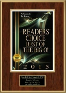 Readers' Choice Best of the Big O!